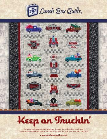 Keep On Trucking by Lunch Box Quilts
