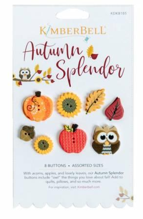 Autumn Spendor Buttons
