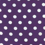 Dottie Purple/white