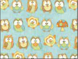 Hoot Hoot Hooray Owls on teal background