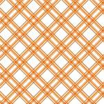 Kimberbell Basic Orange Plaid