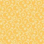 Kimberbell Basic yellow with white swirls