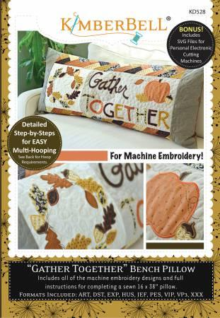 "Kimberbell ""Gather Together"" Bench Pillow"