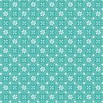 Kimberbell basic dotted circles teal