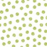 Modern Mixers Dots Green