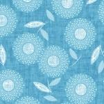 Modern Mixers Floral Print Teal
