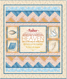 Our Father Quilt Kit NO Backing