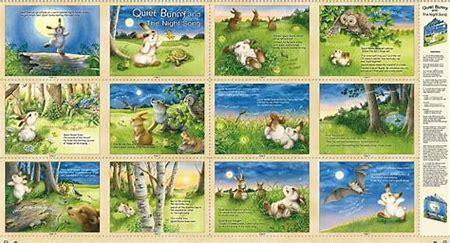 Quiet Bunny and The Night Song Book/Panel
