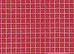 Redwork Revival Red/White Check