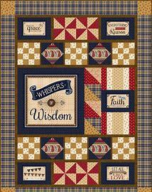 Whispers of Wisdom Quilt NO Backing