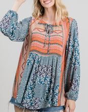 Boho Sunset Dreaming top