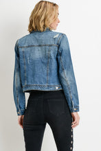 Denim Cropped Jean Jacket