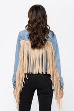 In the Fringe denim jacket