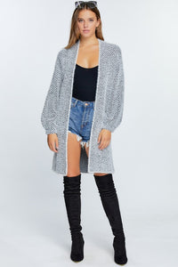 Fuzzy on the details Cardigan