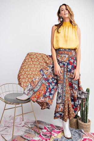 Boho Patchwork pants