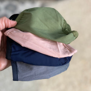 Cotton Twill Face Cover Solid Colors