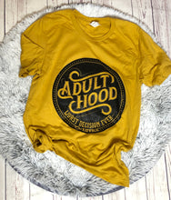 Adulthood Worst Decision Graphic Tee Mustard