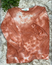 Brushed tie dye sweatshirt