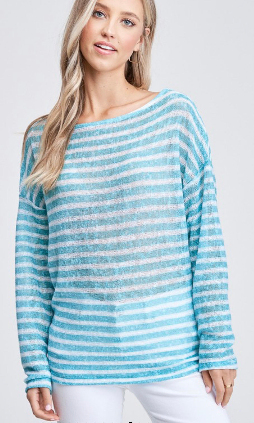 Seaside Stripes Sweater