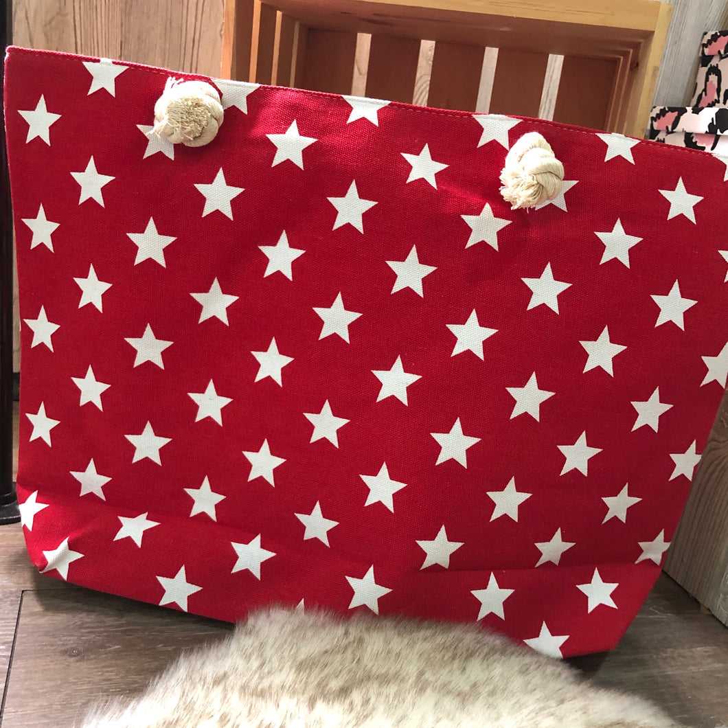 Large Stars Tote