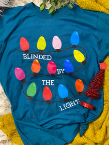 Blinded by the light Christmas tee