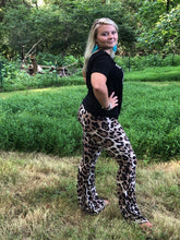 Wild Thang Leopard Bell Bottoms