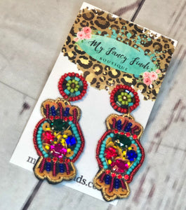 Beaded Ear Candy Earring