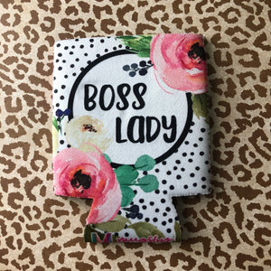Boss Lady Can Cooler