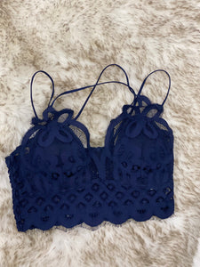 Crochet lace bralette Spring collection