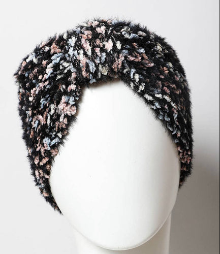 Marled knit headwrap