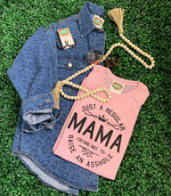 Just a Regular mama graphic tee