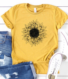 Sunflower Short Sleeve Graphic Tee