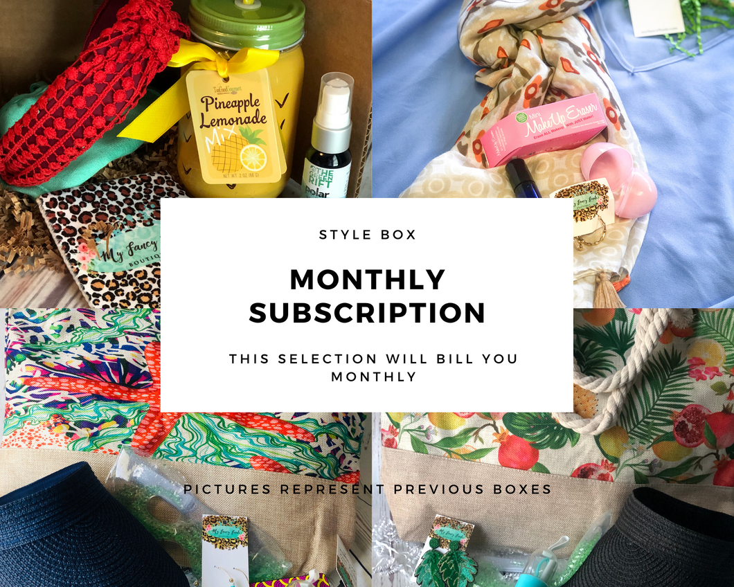 Monthly Style Box Auto Renew Subscription