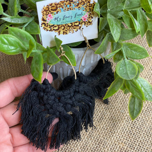 Big Mama Macrame earring