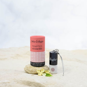 Mini Tempted (coconut) Roller-on perfume key chain