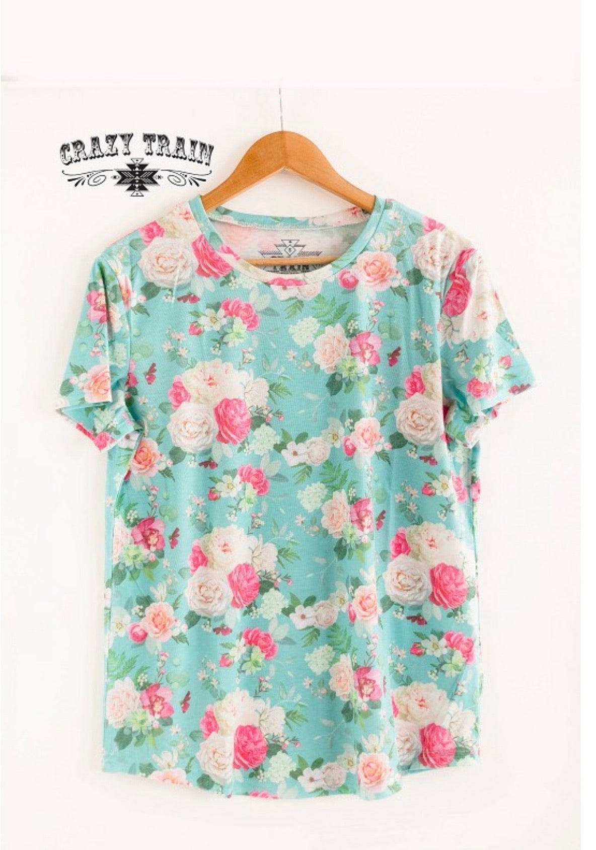 Giddy Gardenia Top