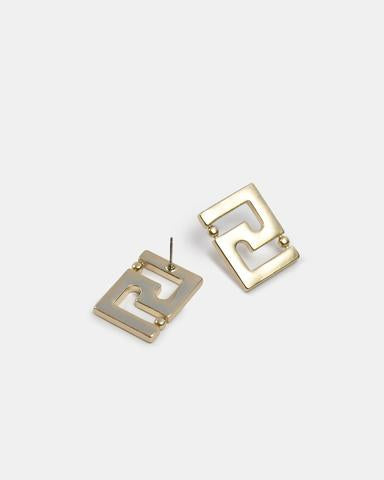Kitte Icon Stud in Gold