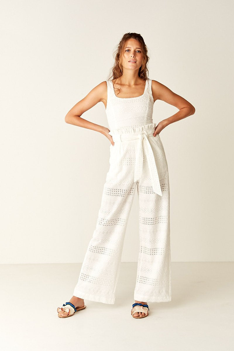 555d07d6368 Suboo Blanca Paperbag Pants in White – Cloakroom Melbourne
