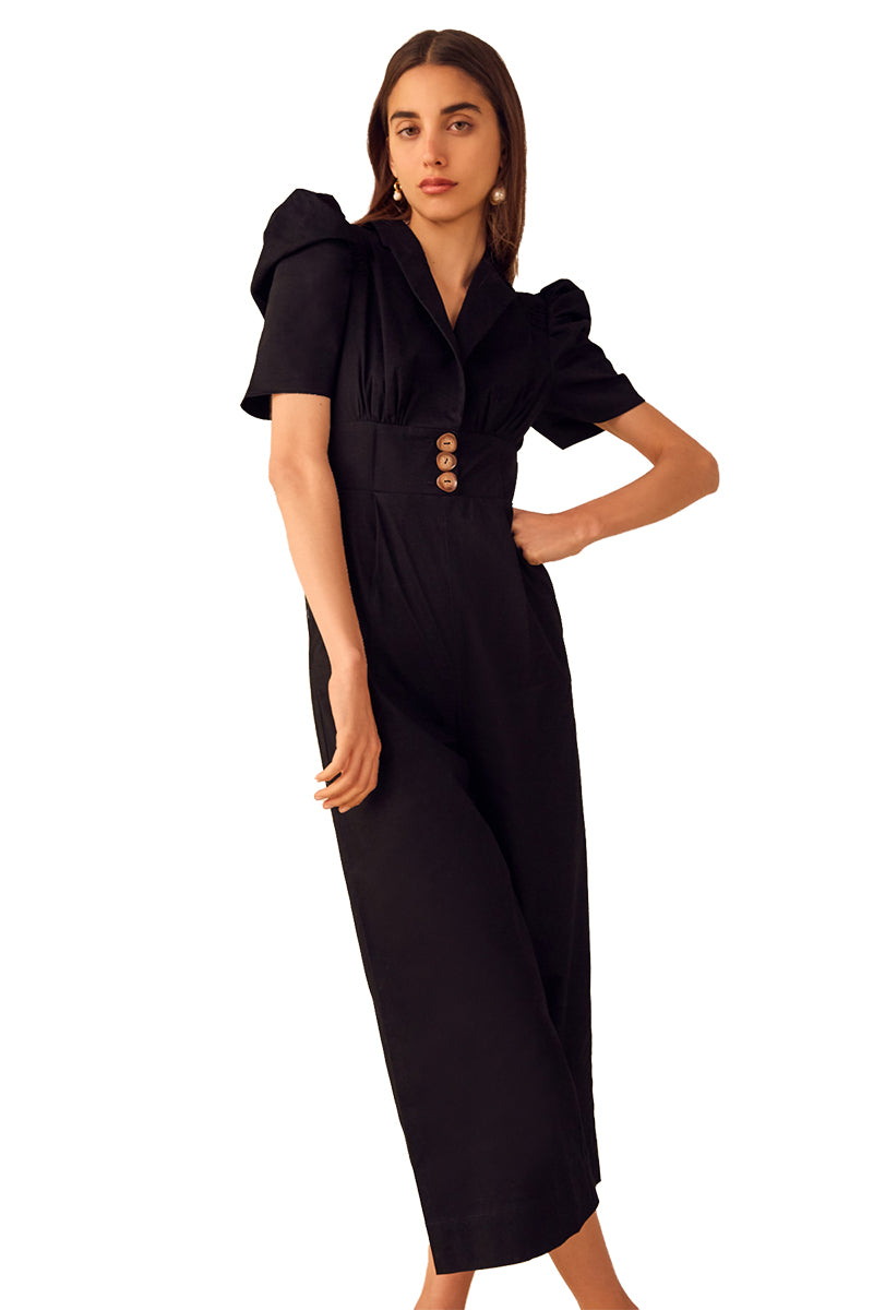 C/MEO Subscribe Jumpsuit in Black