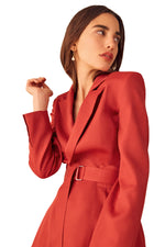 C/MEO The Light Blazer in Red