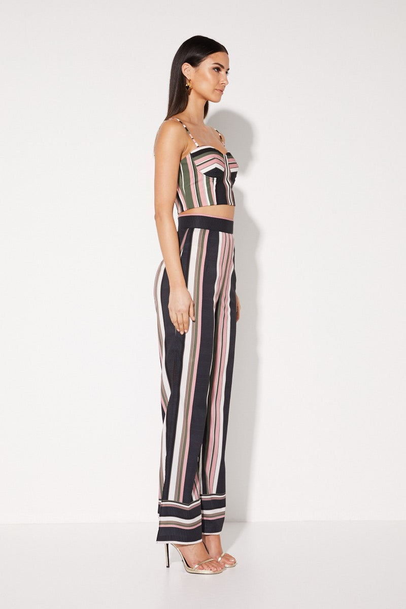 Mossman Sunset Amor Pant in Stripe