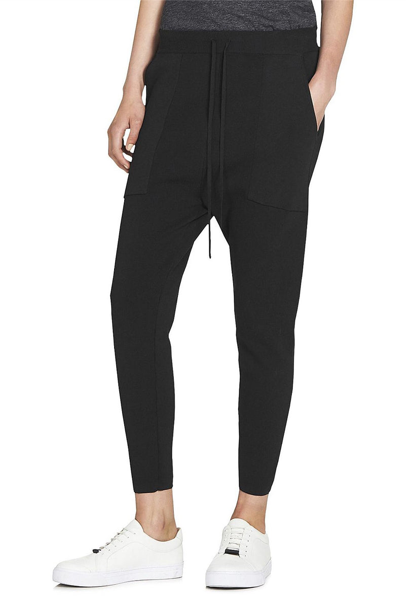 Camilla & Marc Charlton Relaxed Viscose Pant in Black