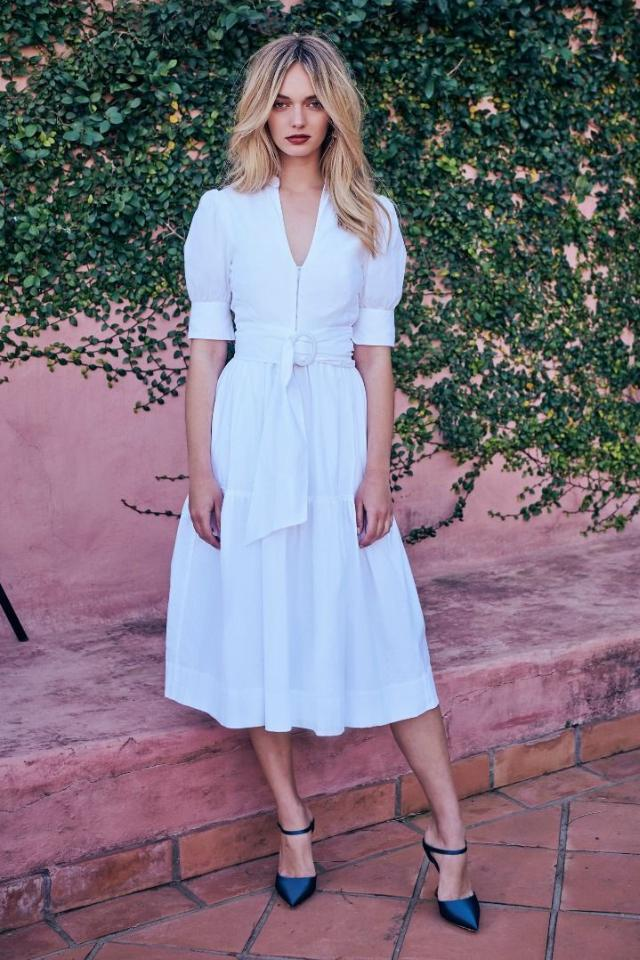 Rebecca Vallance Holliday Dress in White