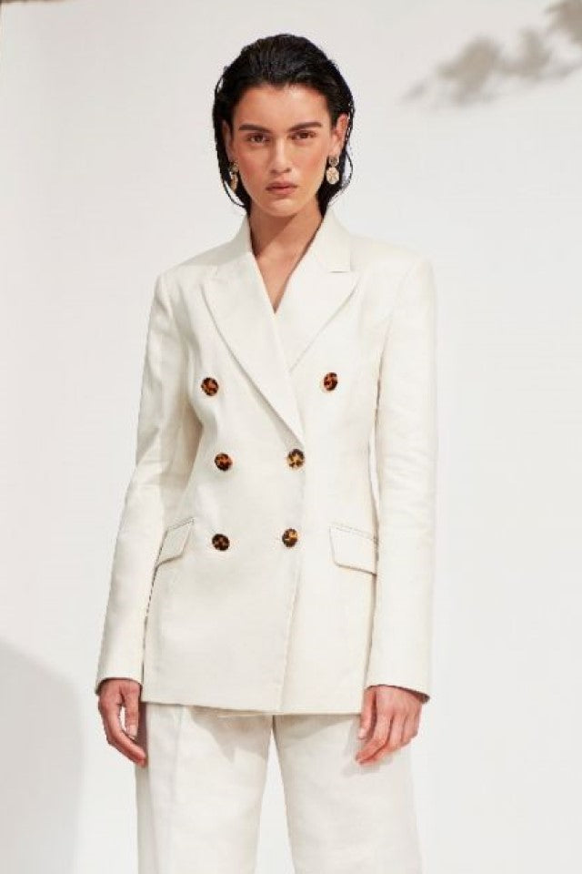Rebecca Vallance Taylor Jacket in Ivory