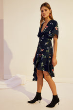 Keepsake Glory Dress in Navy Floral