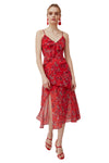 Keepsake Heart and Soul Dress in Red Floral
