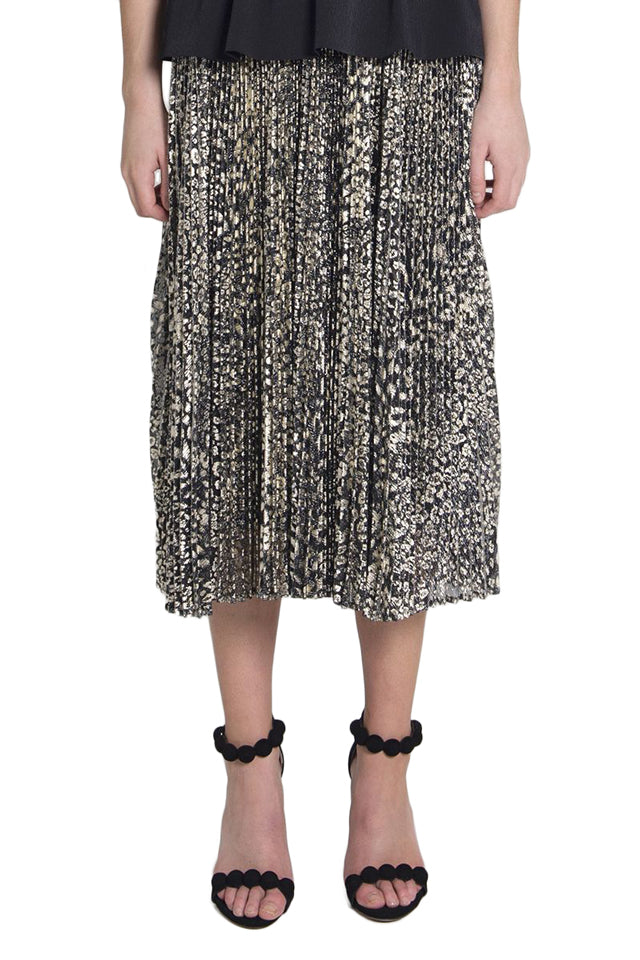 Rebecca Vallance Vienna Skirt in Gold