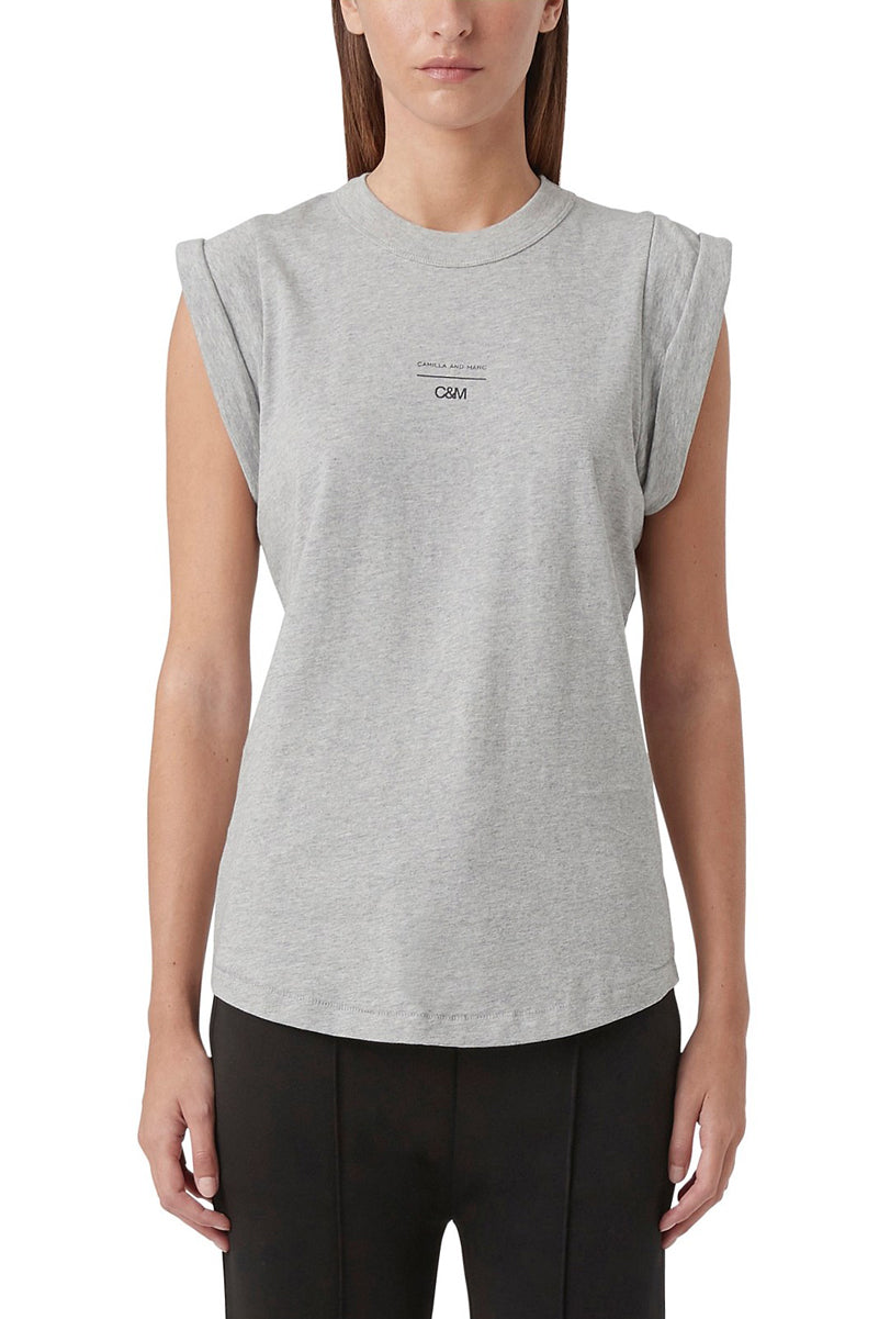 Camilla & Marc Agnes Tank in Grey Marle