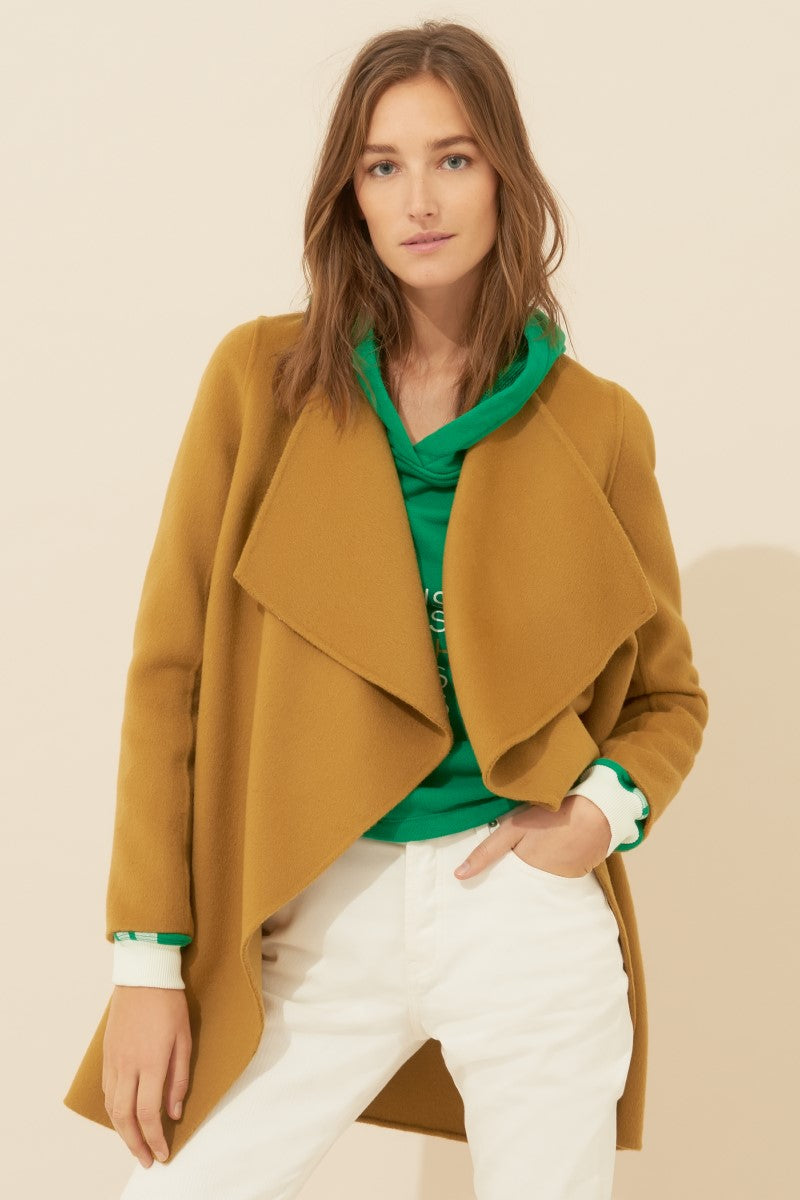 Bash Bach Camel Coat