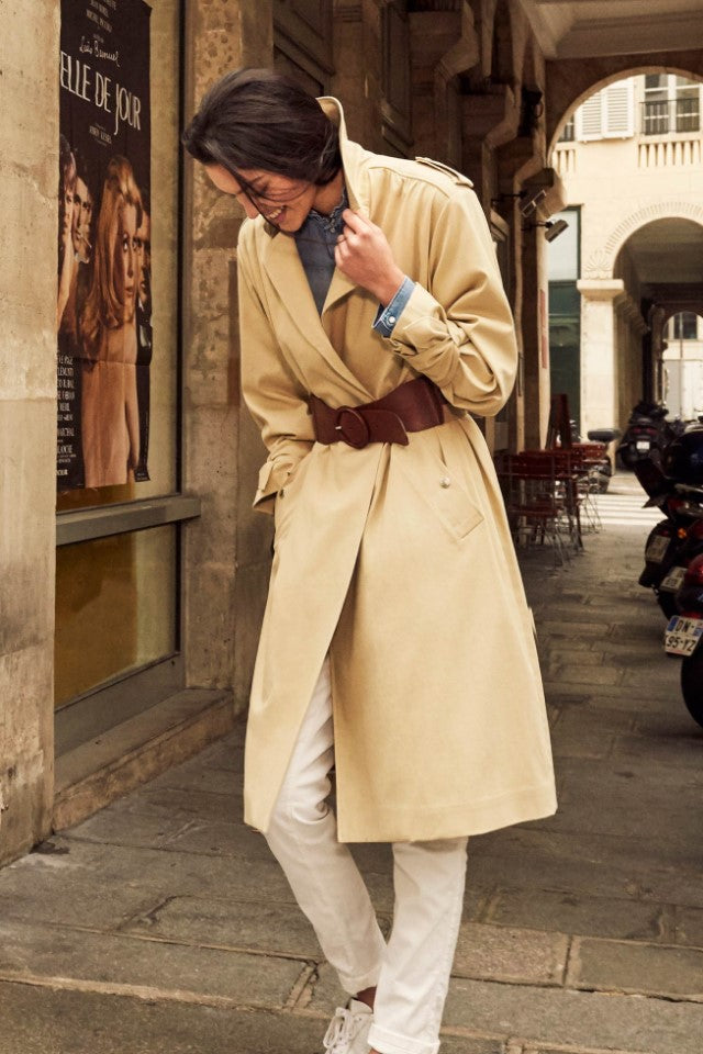 Bash Balzac Beige Coat